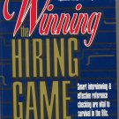 Winning the Hiring Game by Edward C. Andler *NEW