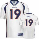 "EDDIE ROYAL #19 DENVER BRONCOS NFL ""ON-FIELD"" JERSEY *NEW-JUST REDUCED!!!"