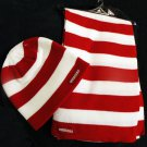 HUSKERS - University of Nebraska Women's Scarf & Cap Set by Adidas - *NEW*