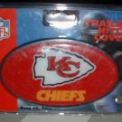 KANSAS CITY CHIEFS TRAILER HITCH COVER  *NEW*