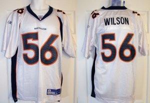 "AL WILSON #56 DENVER BRONCOS NFL ""ON-FIELD"" JERSEY, SIZE MEDIUM"