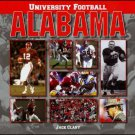 UNIVERSITY FOOTBALL: ALABAMA by Jack Clary  *NEW*