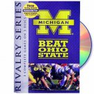 MICHIGAN BEAT OHIO STATE - RIVALRY SERIES (3) DVD's