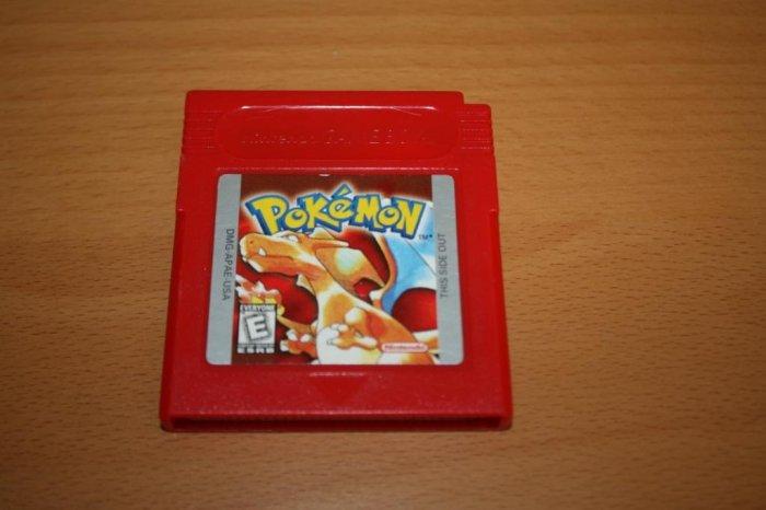 Gameboy Pokemon Red Cartridge