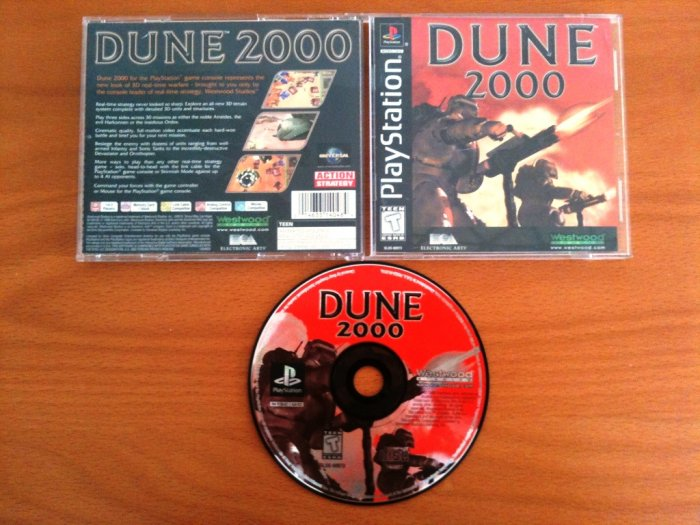 PS1 Dune 2000 Complete in Box