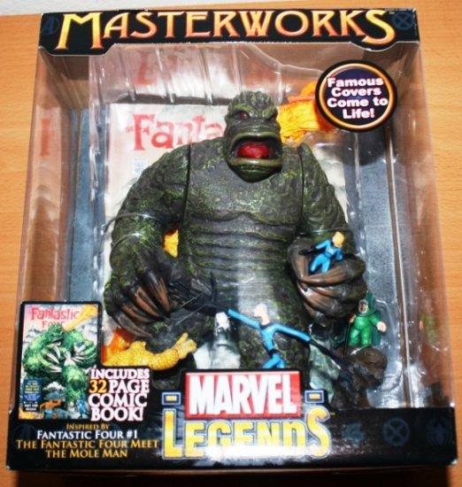 Marvel Legends Masterworks Fantastic Four vs. Mole Man #1 MISB