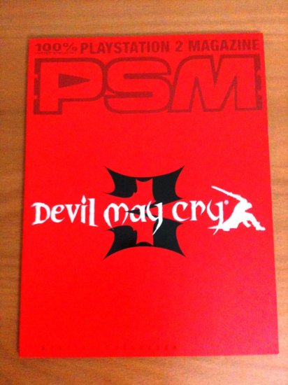 PSM Devil May Cry 3 Special Collector's Edition Cover from E3 2004