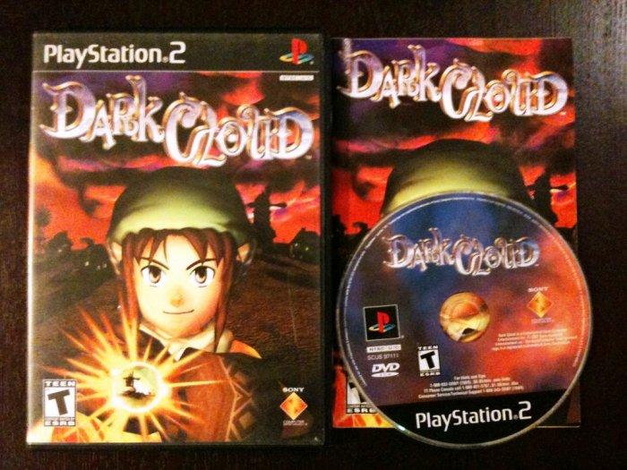 PS2 Dark Cloud Complete