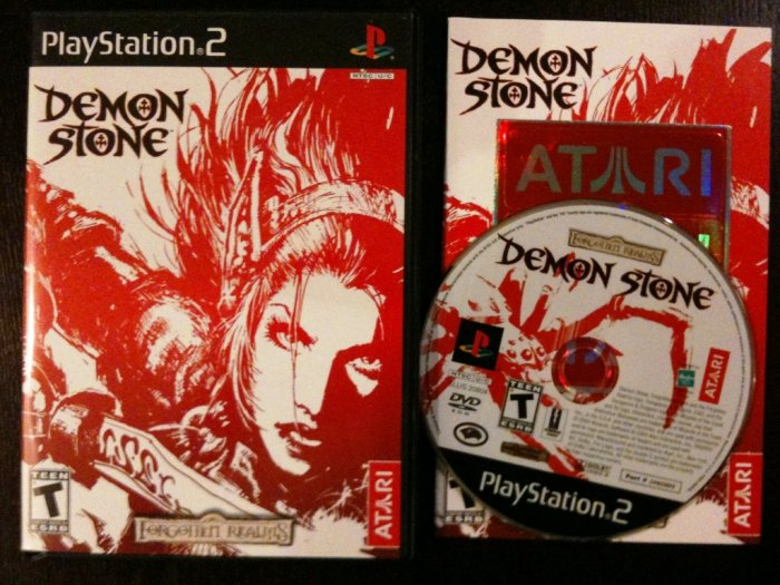 PS2 Demon Stone Complete