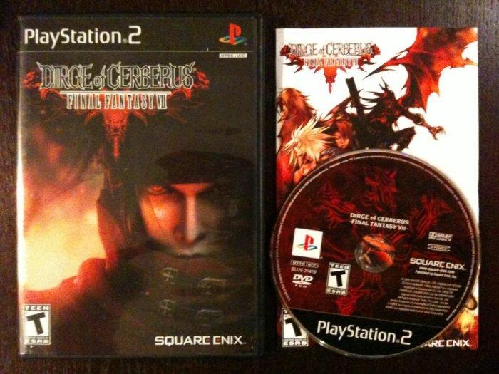 PS2 Dirge of Cerberus Black Label Complete