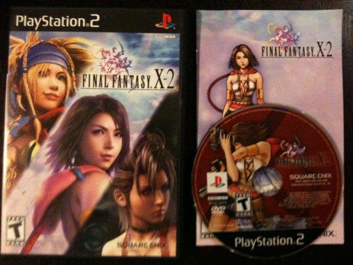 PS2 Final Fantasy X-2 Black Label Complete
