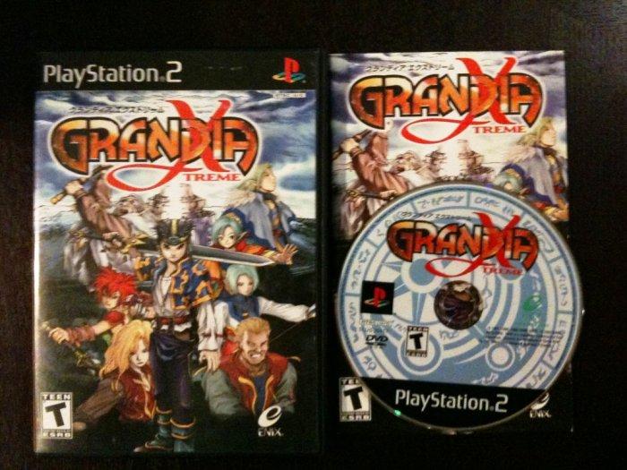 PS2 Grandia Xtreme Complete