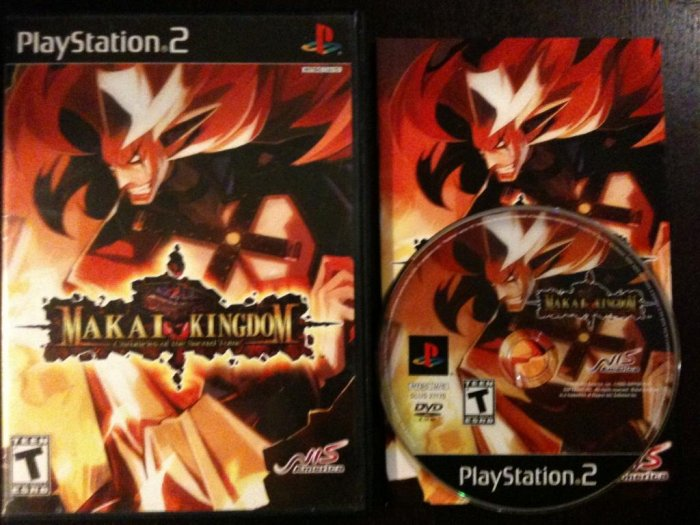 PS2 Makai Kingdom Chronicles of the Sacred Tome Complete