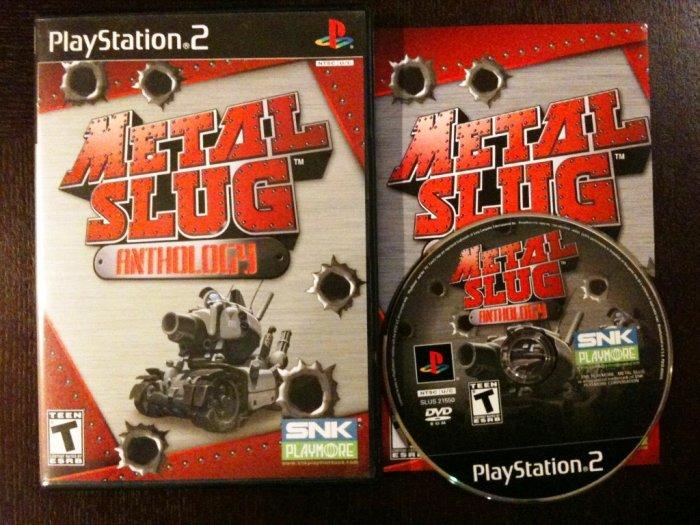 PS2 Metal Slug Anthology Complete