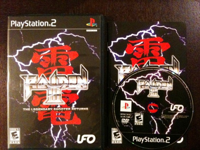 PS2 Raiden III (3) Complete
