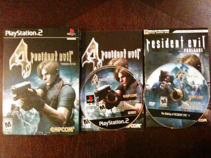 PS2 Resident Evil 4 Premium Edition