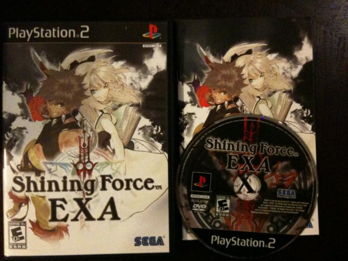PS2 Shining Force Exa Complete