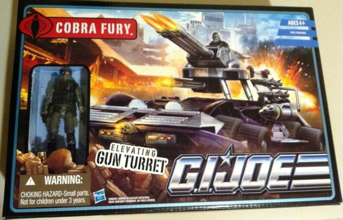 GI Joe Pursuit of Cobra Fury with Alley Viper Brand NEW Sealed