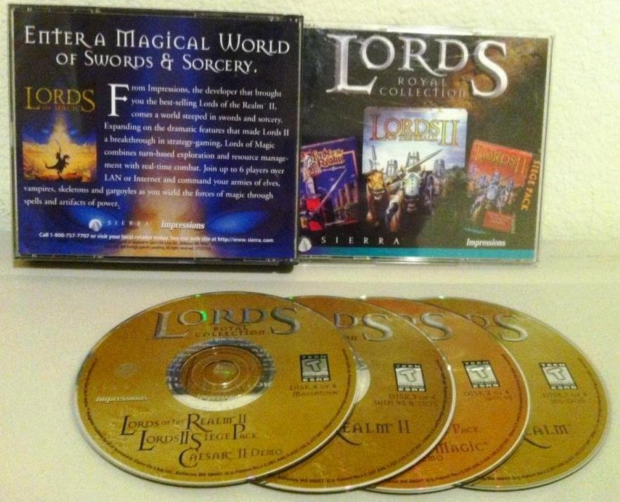 PC Lord of the Realms Royal Collection CD-ROM