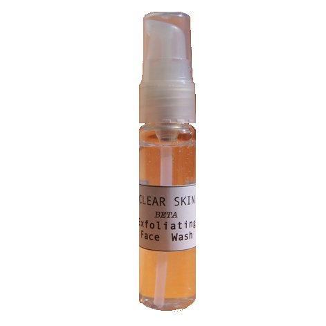 Clear Skin Beta Exfoliating Mineral Face Wash 2oz