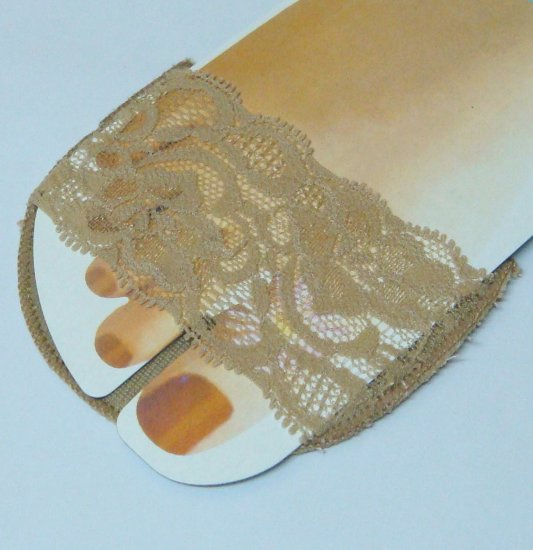 New Lady High Heel Shoes Protect Insoles Pad Socks #3
