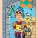 "11""x14"" ART PRINT FOR CHILDREN'S ROOMS / KNIGHT"