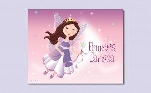 "PRINCESS FAIRY CASTLE 8""x10""BABY ULTRASOUND POEM PRINT"