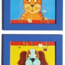 FRAMED PRINTS  FOR NURSERY CHILREN ROOM / CAT & DOG