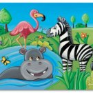 "11""x14"" ART PRINT NURSERY KID'S ROOMS /  SAFARI ANIMALS"