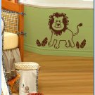 Little Jungle Lion - Vinyl Wall Decal for Kids