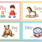 "11""x14"" ART PRINT FOR NURSERY CHILDREN'S ROOMS / TOYS"