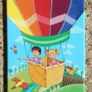 CANVAS ART PRINT FOR CHILDREN ROOM / BALLOON ADVENTURE