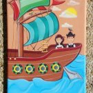 PRINT ON CANVAS FOR NURSERY CHILDREN ROOM / PIRATE SHIP
