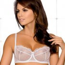 Sheer Lace Shelf Underwire Bra, Bridal Lingerie