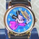 Disney Mickey Mouse Lorus Colorful Ladies Watch Wristwatch Jewelry Retired Item RZJ082