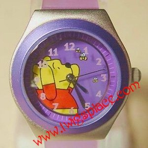 Disney Winnie the Pooh Purple Ladies Teens Watch Wristwatch Jewelry MC0205