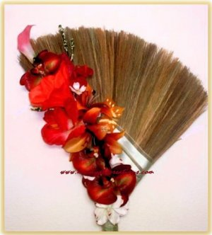 Custom Made Wedding Jumping Brooms