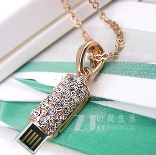 data traveler flash drive necklace 4 GB