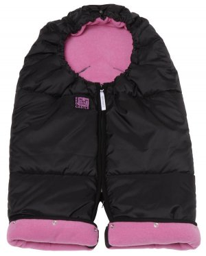 Pink/Black Red Castle cozy convertible combizip multi-purpose stroller footmuff warm sleeping bag
