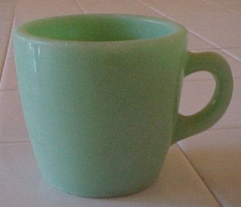 Fire King Jadeite Restaurant Ware Coffee Cup