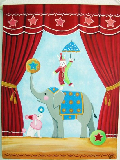 Circus Theme Wall Hanging