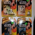 STAR WARS mini die-cast Action Masters/ lot of 4