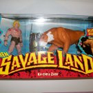 X MEN SAVAGELAND 1997 KA-ZAR and ZABU Action Figures