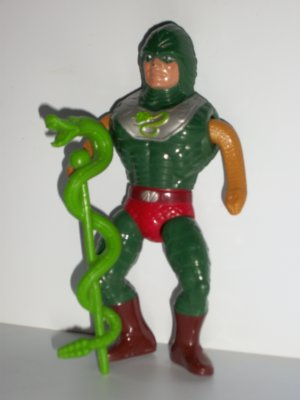 HE MAN VINTAGE KING HISS Action Figure