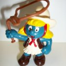SMURF VINTAGE COWGIRL Figure