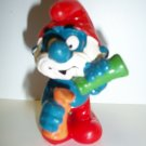 SMURF VINTAGE PAPA WITH LAB GLASS Figure