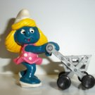 SMURF SUPERSMURF SHOPPING CART SMURF Figure