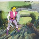 HE MAN AUTHENTIC PRINCE ADAM ANIMATION CEL