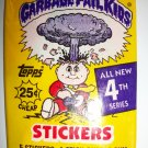 GARBAGE PAIL KIDS 4th SERIES Trading Card Pack