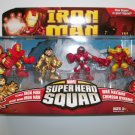 IRON MAN SUPERHERO SQUAD 4 PACK figures